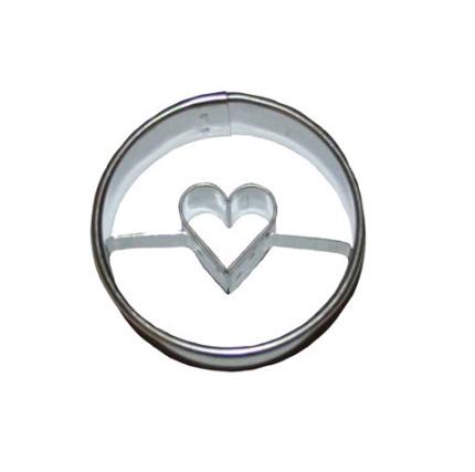 Ausstecher Linzer 4cm Herz