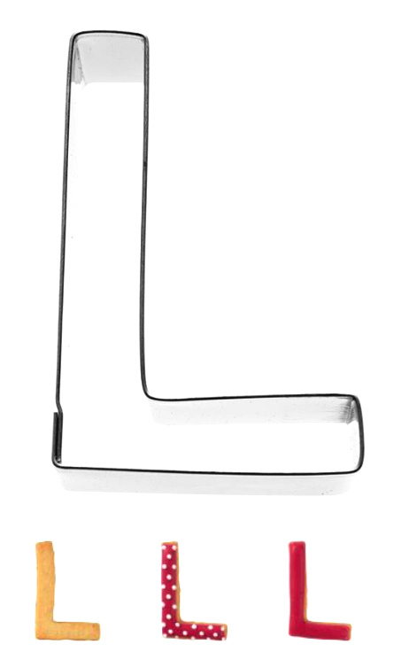 Ausstecher A-Z 6cm