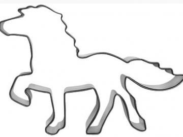 Ausstecher Islandpferd 12cm
