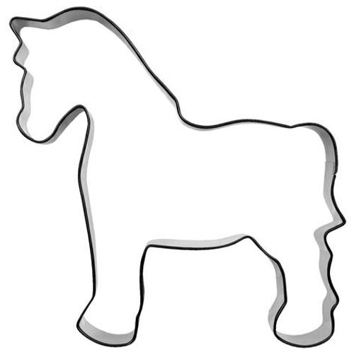 Ausstecher Pferd 10cm