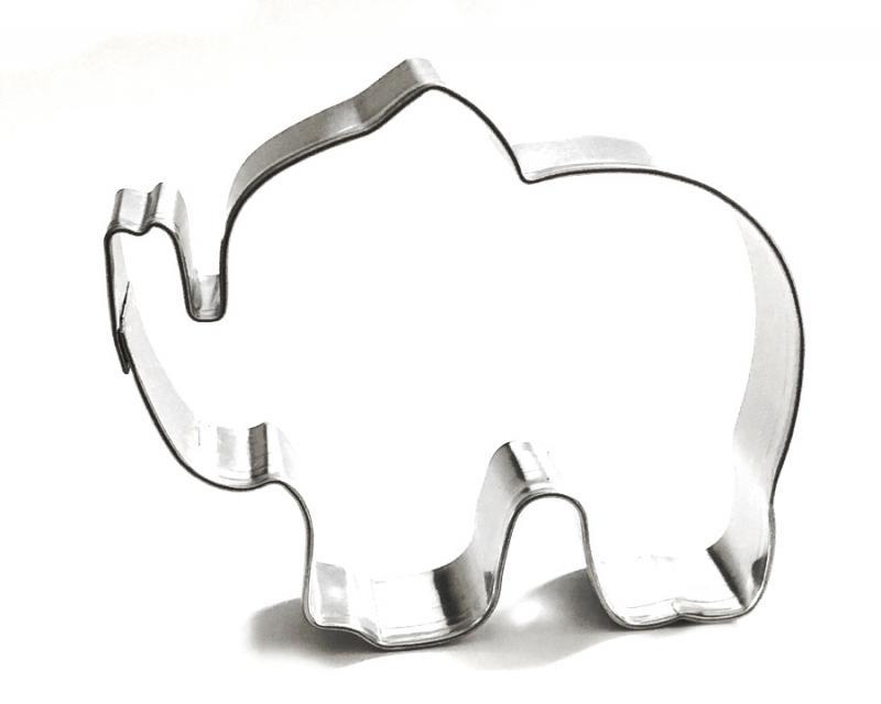 Ausstecher Elefant 65x60mm