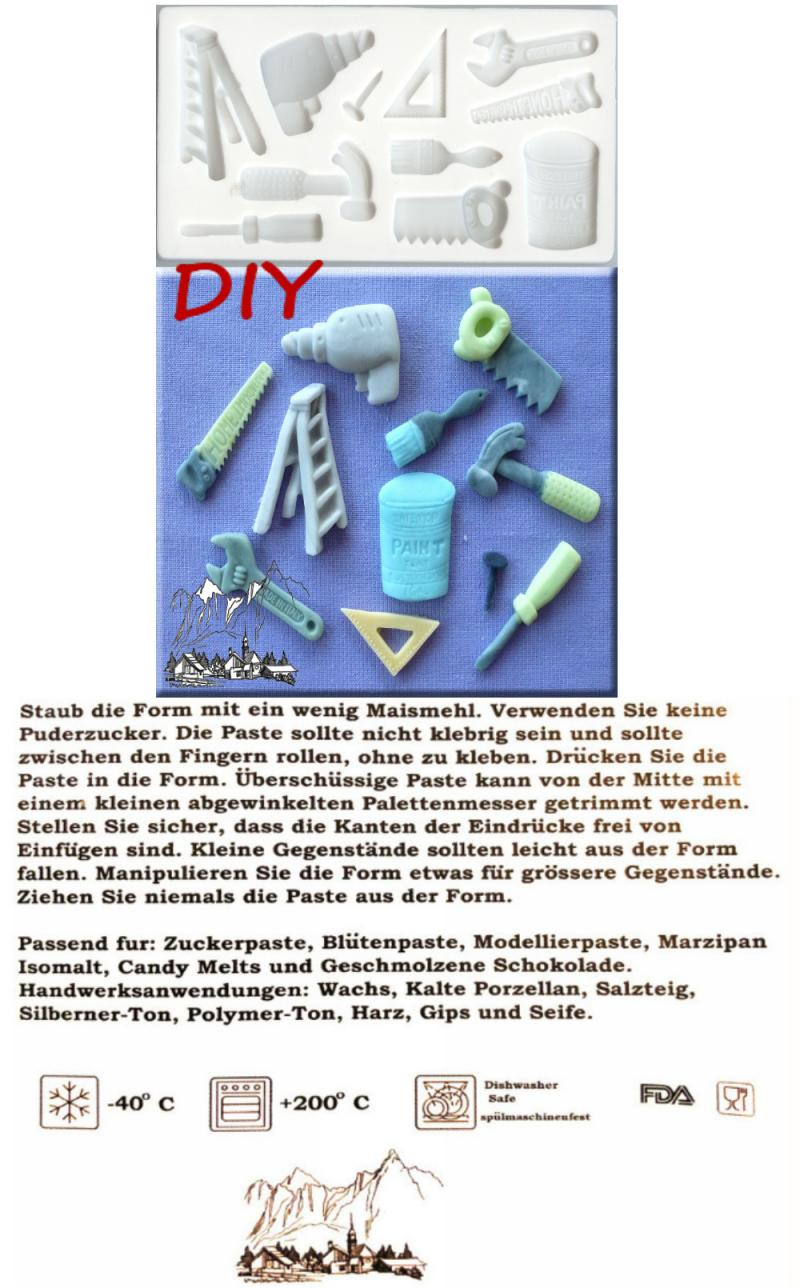 Silikonform DIY Hobby Werkzeug