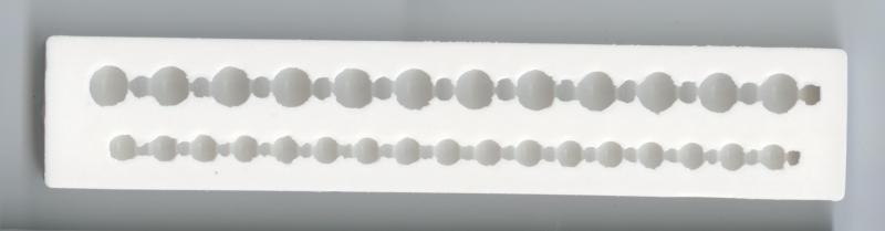 Silikonform Bordüre Kugel Rahmen