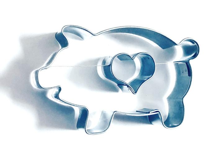 Ausstecher Schwein / Herz