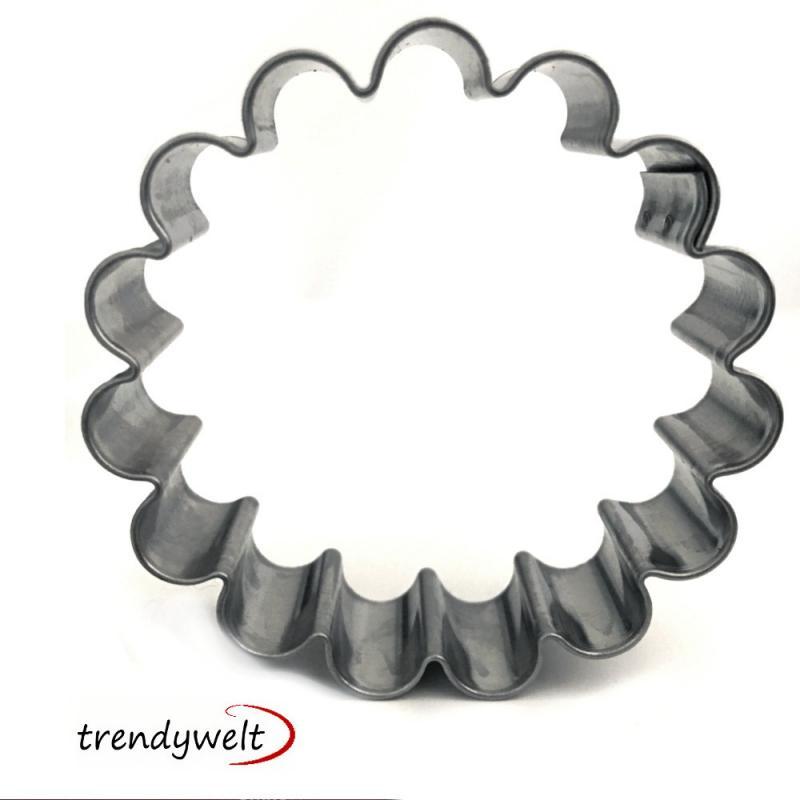 Ausstecher Ring, gewellt 5cm