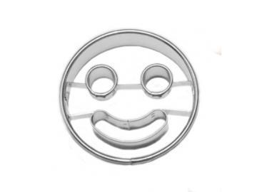 Ausstecher Linzer 5cm Smiley