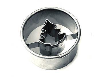 Ausstecher Tanne im Ring 3cm