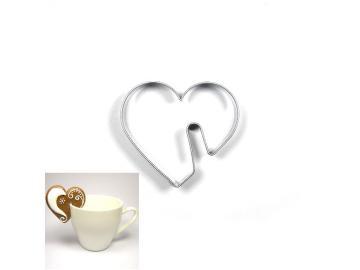 Ausstecher Tassen Herz