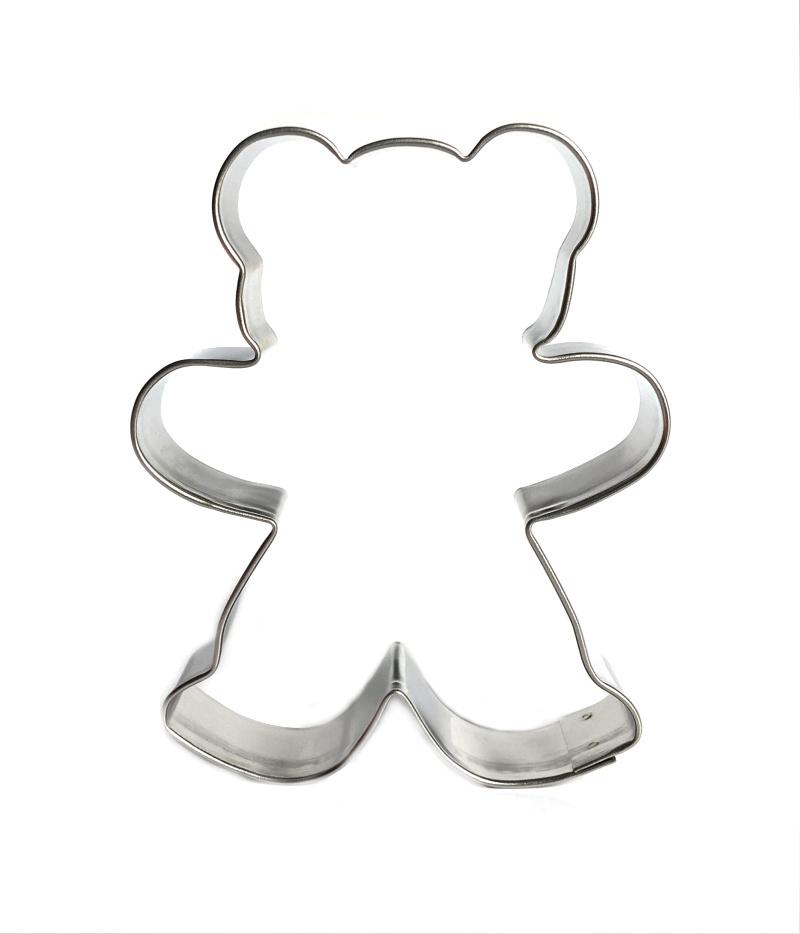 Ausstecher Teddy 8cm